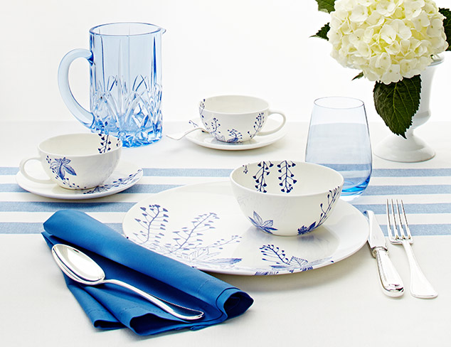 Set The Table Blue & White at MYHABIT
