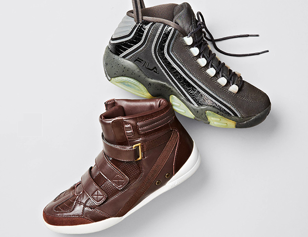 Sneakers feat. Fila at MYHABIT
