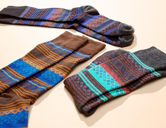 Socks feat. Florsheim at MYHABIT