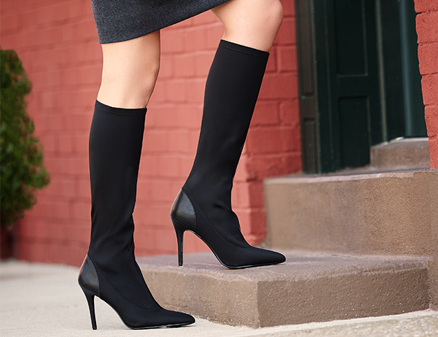 Style with Stretch Elastic Panel Boots at MYHABIT