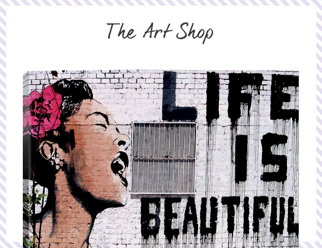The Art Shop Up to 70 Off at MYHABIT