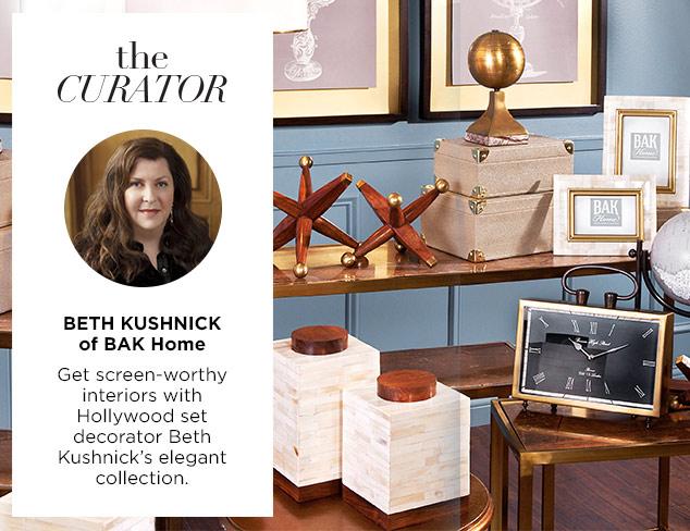 The Curator Beth Kushnick of BAK Home at MYHABIT
