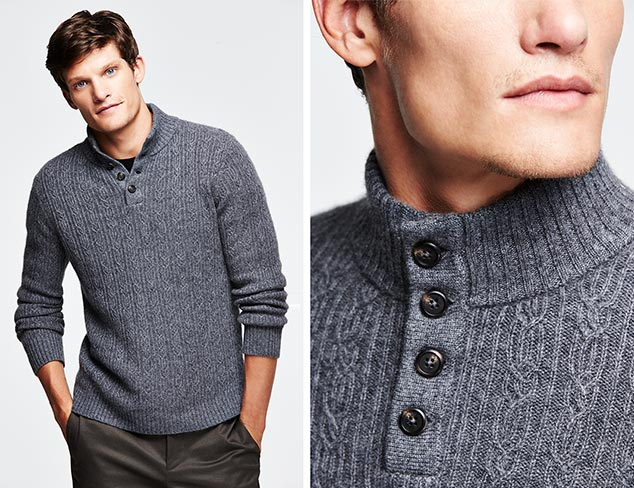 Thirty Five Kent Cashmere Sweaters at MYHABIT