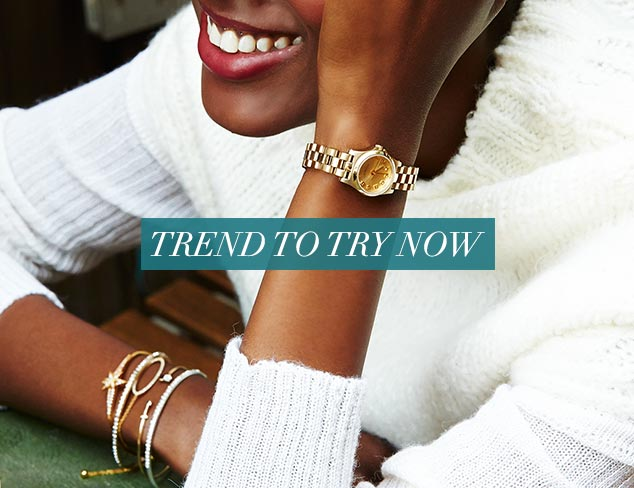 Trend to Try Now Delicate Details at MYHABIT