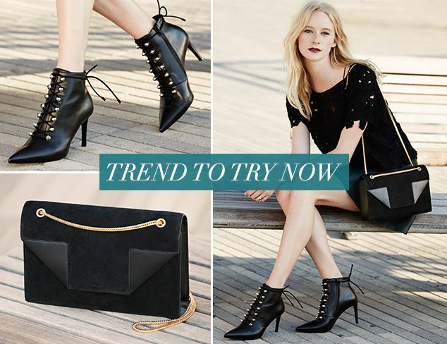 Trend to Try Now Modern Romance at MYHABIT