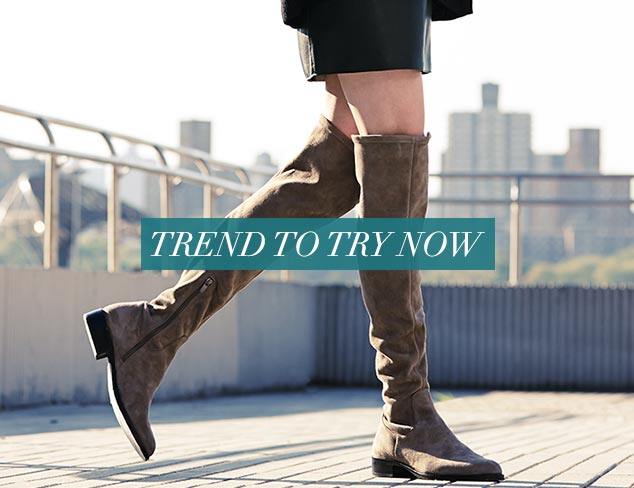 Trend to Try Now Over-the-Knee Boots at MYHABIT