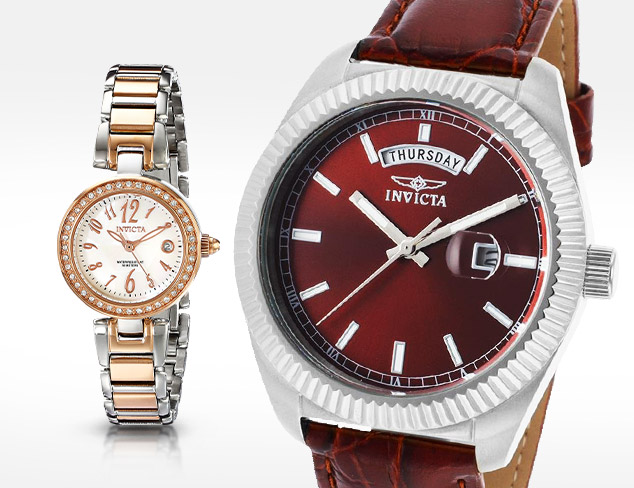 Up To 90 Off Invicta Watches at MYHABIT
