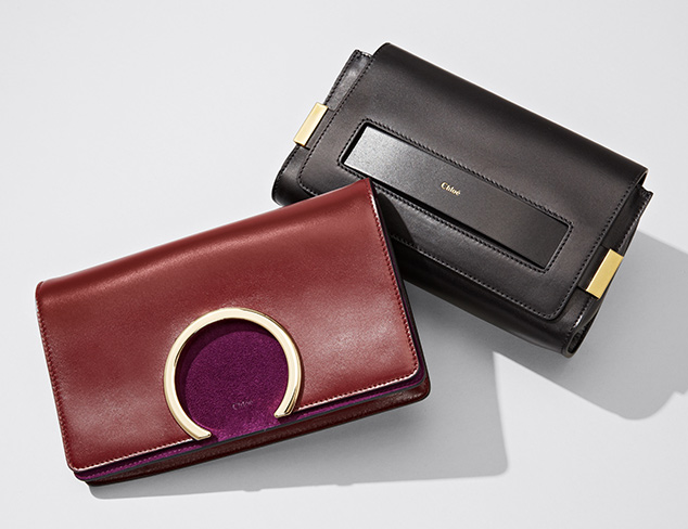 Updated Classics Satchels, Clutches & More at MYHABIT