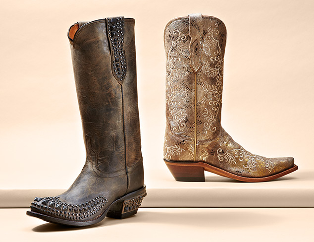 Western Boots feat. Lucchese at MYHABIT