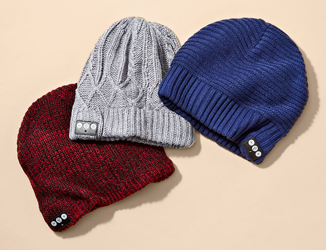 1 Voice Bluetooth Beanies at MYHABIT