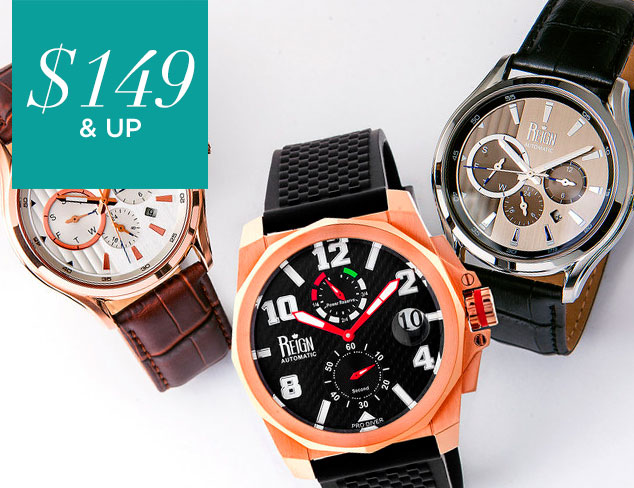 $149 & Up Reign Automatic Watches at MYHABIT