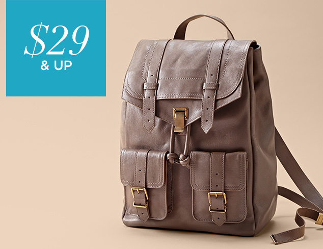 $29 & Up Backpacks, Bucket Bags & More at MYHABIT