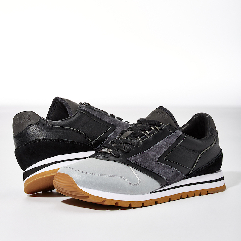 BNY Sole Series Brooks Reflective-Detail Sneakers_Black