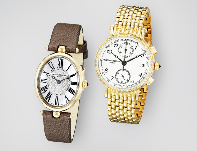 Frederique Constant Watches at MYHABIT