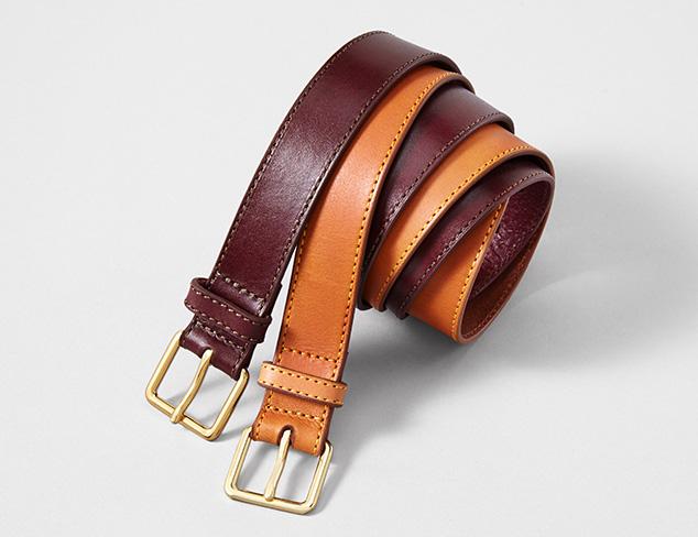 Isaac Mizrahi & More Belts at MYHABIT