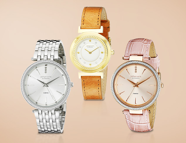 Johan Eric Classic Timepieces at MYHABIT