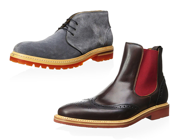 Sleek to Rugged Slip-On & Lace-Up Boots at MYHABIT