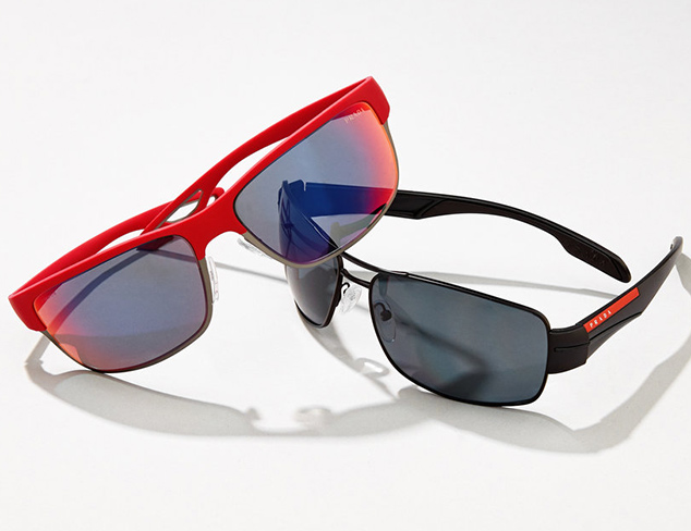 Sunglasses & Eyewear feat. Prada Sport at MYHABIT