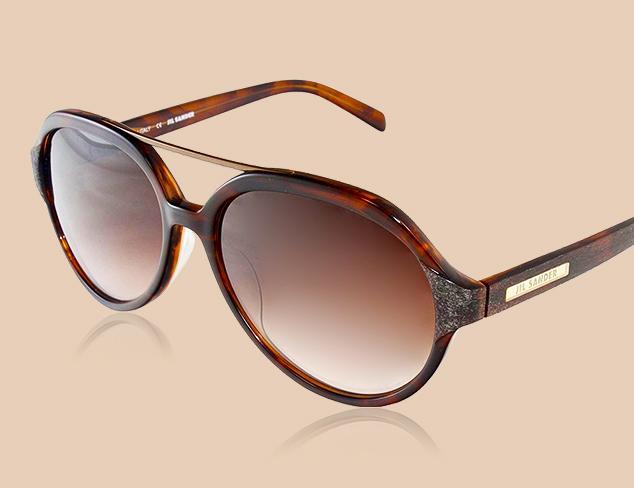 Under $50 Jil Sander Sunglasses at MYHABIT