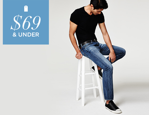 $69 & Under Denim & Pants at MYHABIT