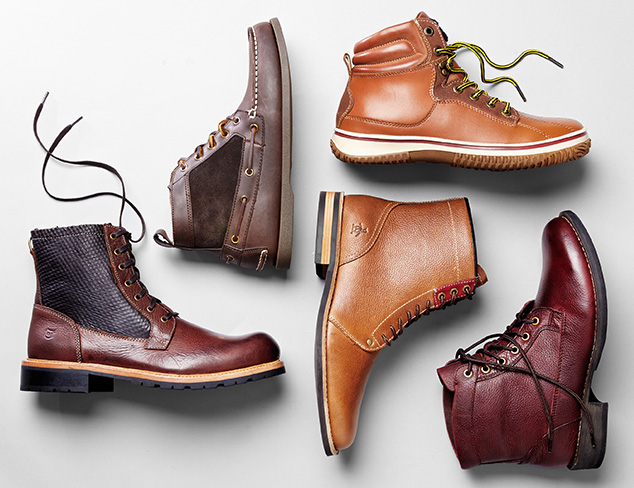 Boot Up: Chukkas & More at MYHABIT