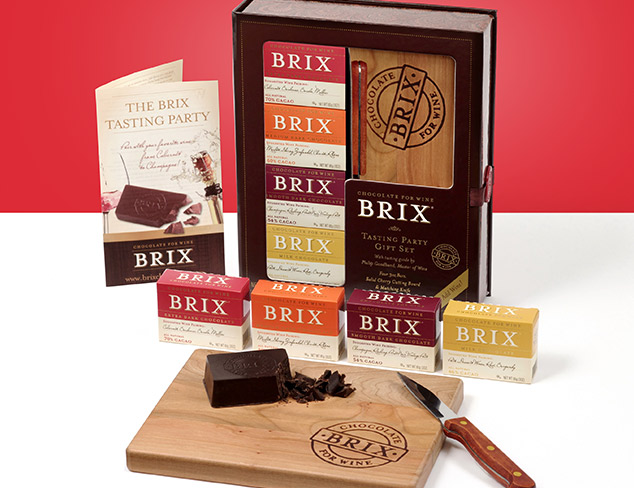 Brix Chocolate for Wine at MYHABIT