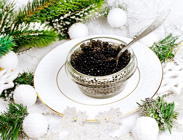 Calvisius Caviar for the Holidays at MYHABIT