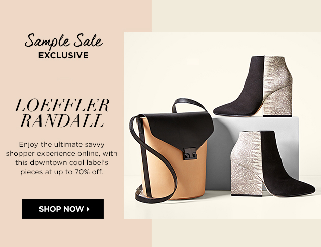 Loeffler Randall Shoes & Handbags at MYHABIT
