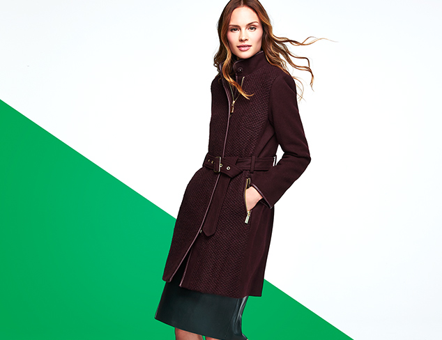 New Markdowns Outerwear feat. Vince Camuto at MYHABIT