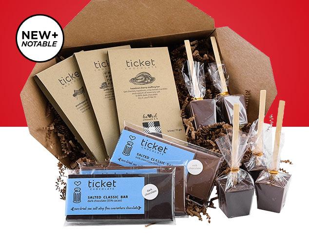 New & Notable Ticket Chocolate at MYHABIT
