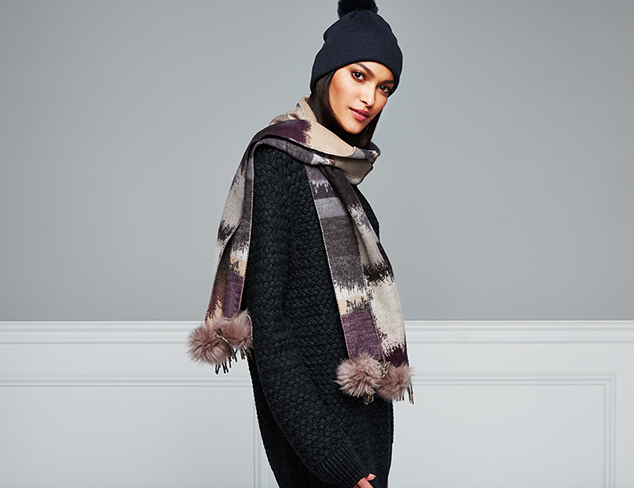 Soft & Warm Accessories Shearling & More at MYHABIT