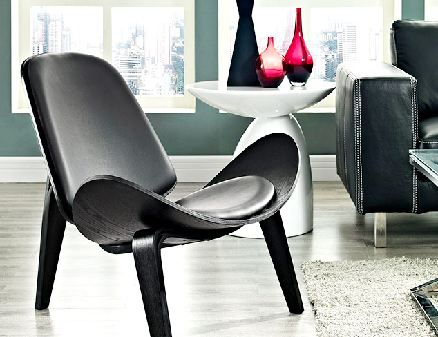 Under $299 Black & White Furniture at MYHABIT