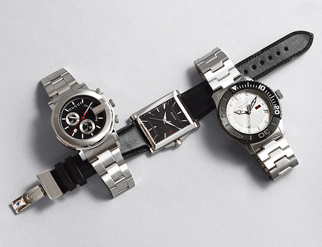 Watches feat. Gucci at MYHABIT