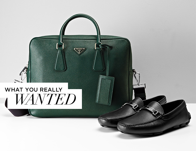 What You Really Wanted Prada Shoes & Accessories at MYHABIT
