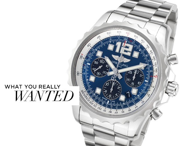 What You Really Wanted Watches feat. Breitling at MYHABIT