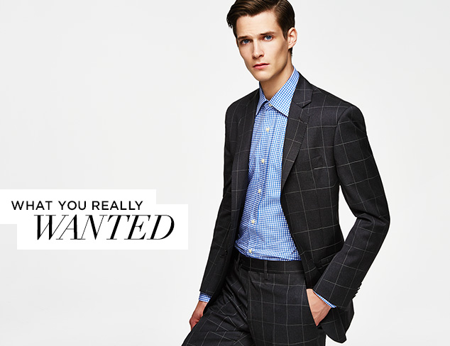 What You Really Wanted Yves Saint Laurent Suits & Dress Shirts at MYHABIT
