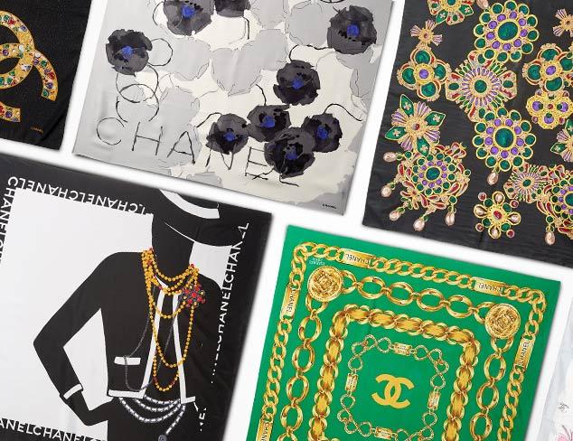 Designer Scarves & Accessories feat. CHANEL at MYHABIT