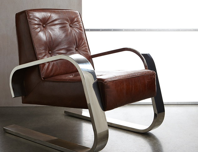 Made to Last Top Grain Leather Furniture at MYHABIT