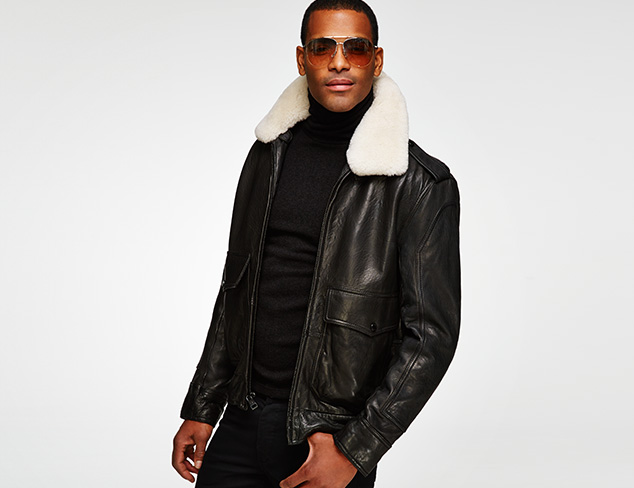 New Markdowns Outerwear feat. Andrew Marc at MYHABIT
