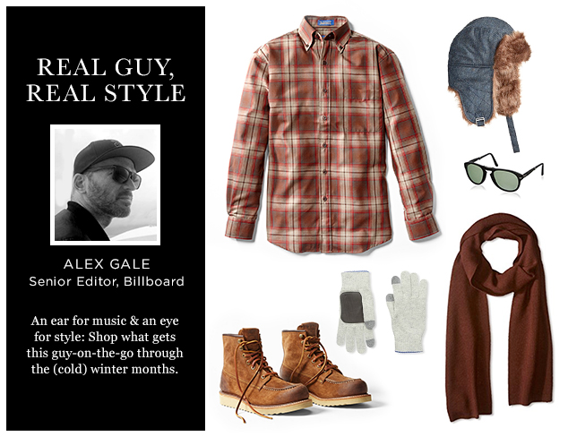 Real Guy, Real Style Editor Alex Gale's Picks For Winter at MYHABIT