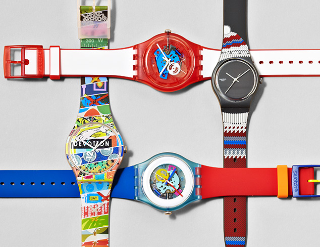 Sporty Watches feat. Swatch at MYHABIT