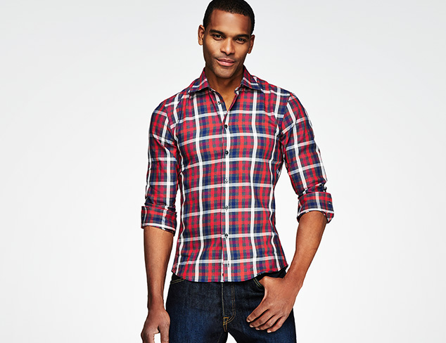 Warm for Winter Cords, Flannel & more at MYHABIT
