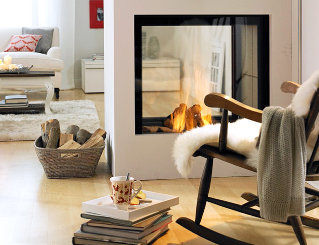 Cozy Up The Lodge-Inspired Living Room at MYHABIT