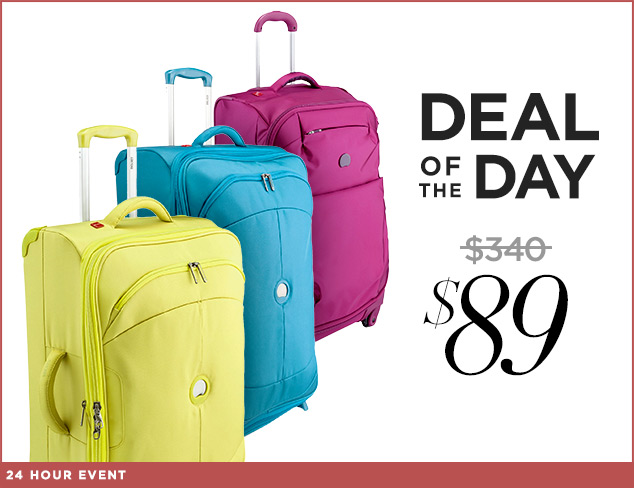 Deal of the Day DELSEY Paris Trolley at $89 at MYHABIT