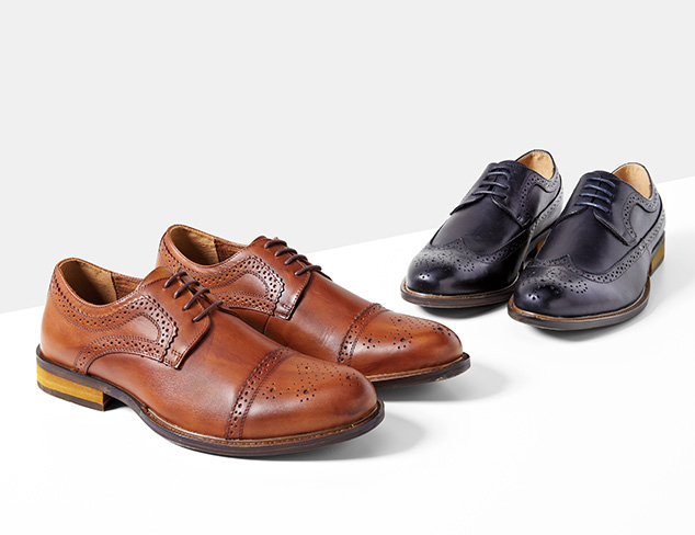 Steps to CEO Dress Shoes at MYHABIT