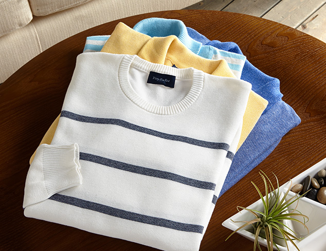 Thirty Five Kent Cotton Sweaters at MYHABIT