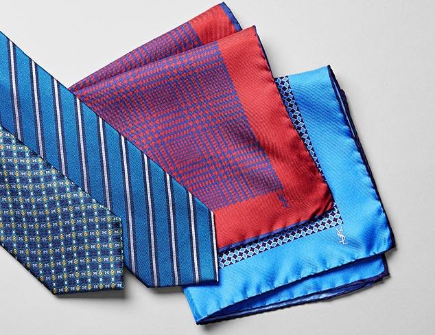 YSL Ties & Pocket Squares at MYHABIT