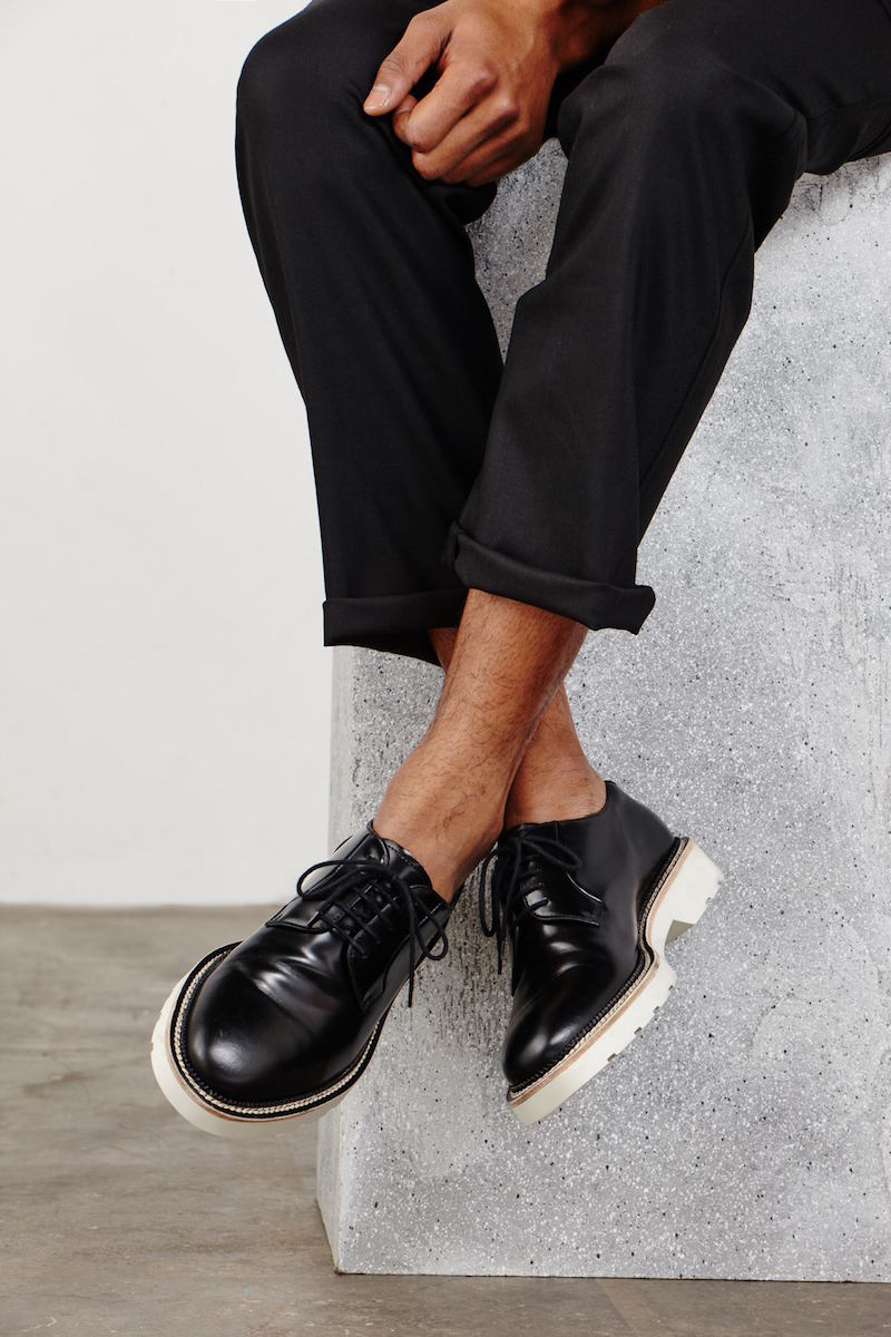 Alexander McQueen Rubber-soled Derby Shoes