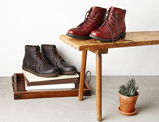 Rugged & Handsome Shoes at MYHABIT