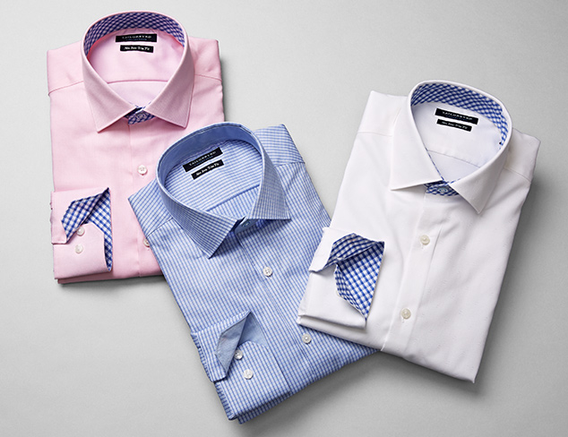 Dress Shirts feat. Tailorbyrd at MyHabit